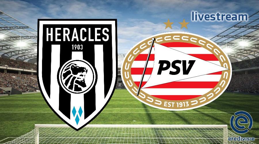 Eredivisie live stream Heracles Almelo - PSV