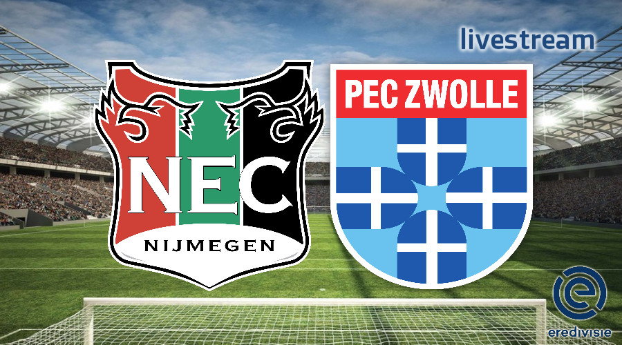 Eredivisie live stream NEC - PEC Zwolle