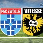 Eredivisie live stream PEC Zwolle - Vitesse