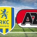 Eredivisie live stream RKC Waalwijk - AZ Alkmaar