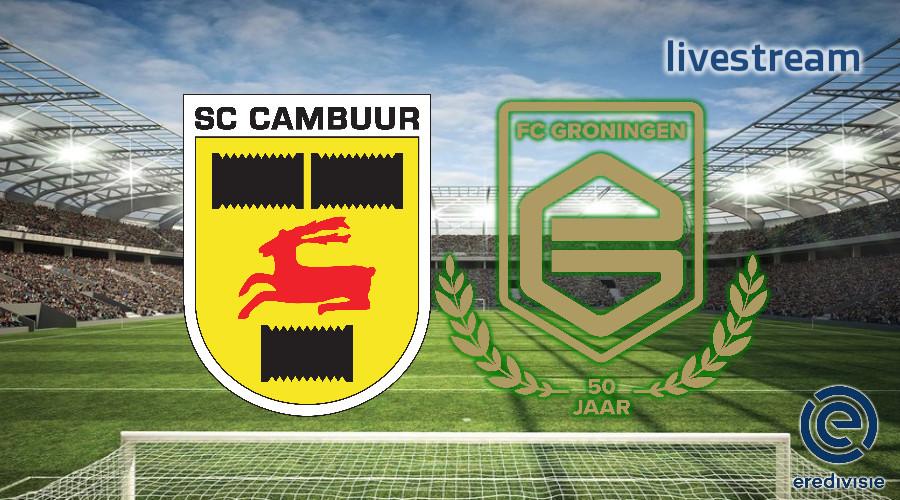 Eredivisie live stream SC Cambuur - FC Groningen