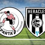 Eredivisie live stream Sparta Rotterdam - Heracles Almelo