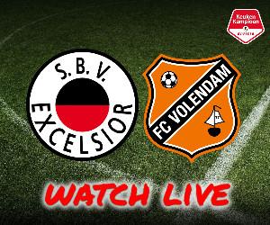 Excelsior - FC Volendam livestream