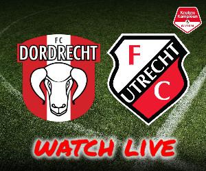 FC Dordrecht - Jong FC Utrecht livestream