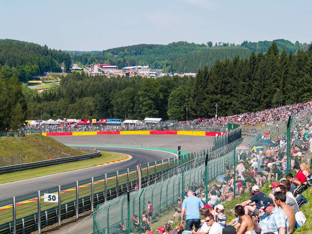 Formule 1 grand prix België (Foto Flickr)