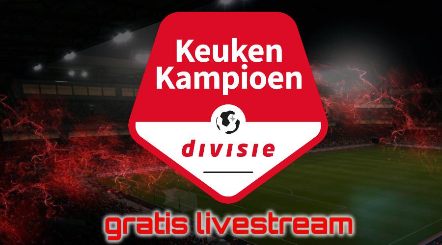 Gratis KKD Keuken Kampioen Divisie live stream