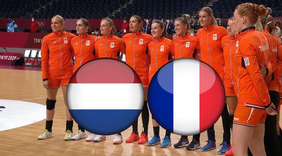 Handbal live stream Nederland - Frankrijk Olympische Spelen Tokio 2020