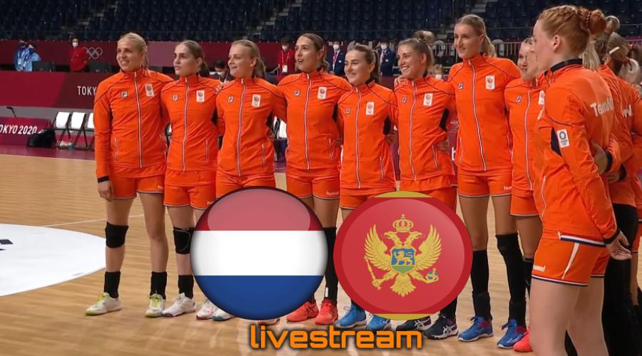 Handbal live stream Nederland - Montenegro Olympische Spelen Tokio