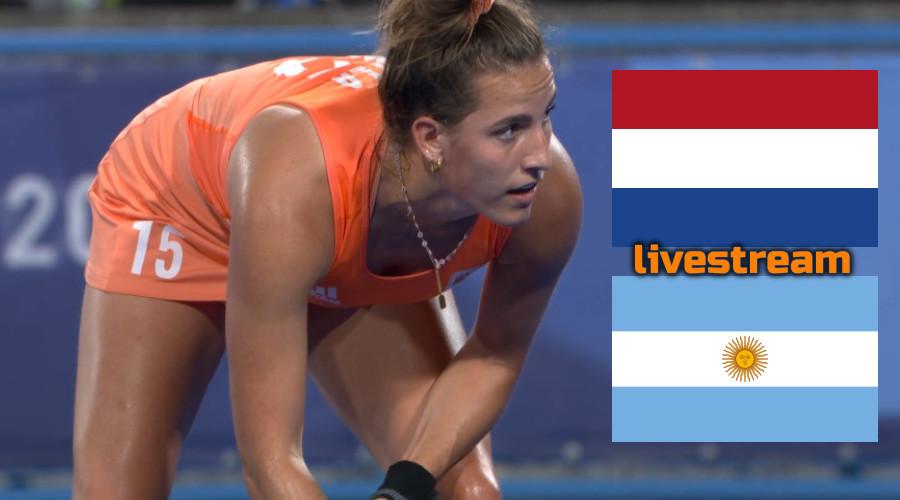 Hockey live stream Nederland - Argentinië Olympische Spelen Tokio