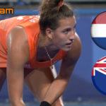 Hockey live stream Nederland - Nieuw-Zeeland Tokio 2020 Olympische Spelen