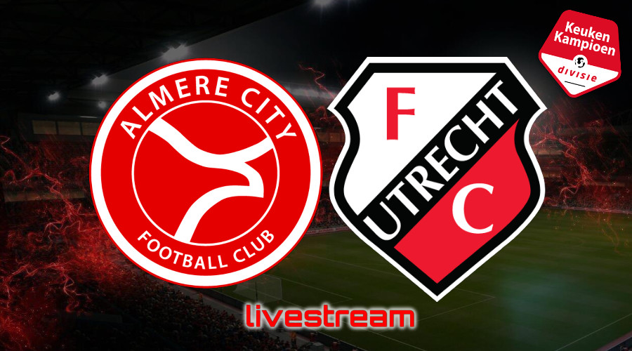 KKD live stream Almere City FC - Jong FC Utrecht