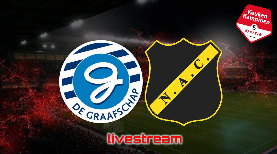 KKD live stream De Graafschap - NAC Breda