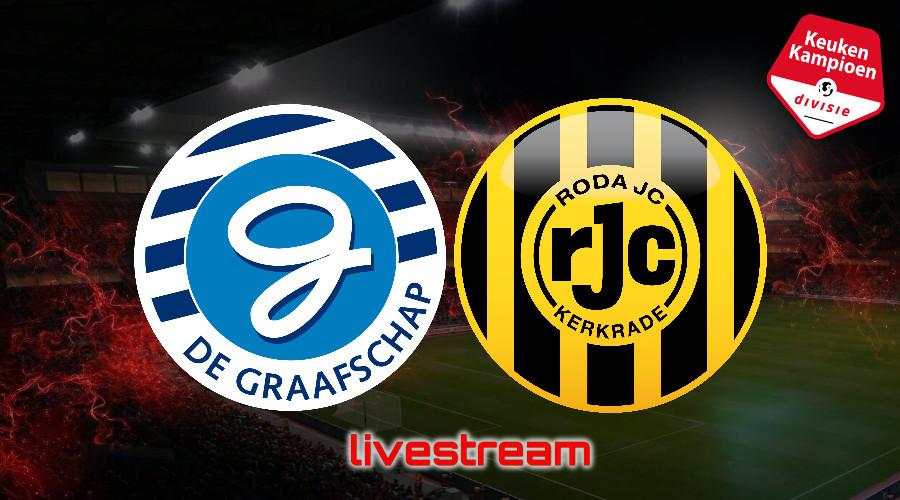 KKD live stream De Graafschap - Roda JC