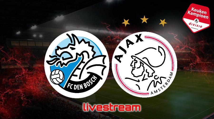 KKD live stream FC Den Bosch - Jong Ajax