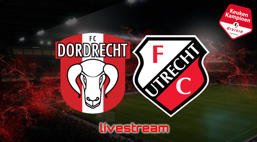 KKD live stream FC Dordrecht - Jong FC Utrecht