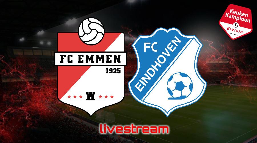 KKD live stream FC Emmen - FC Eindhoven