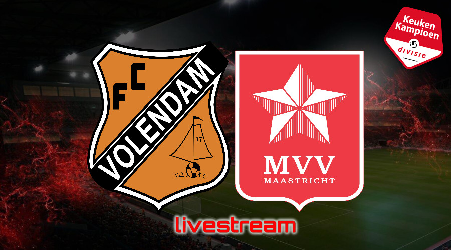 KKD live stream FC Volendam - MVV Maastricht