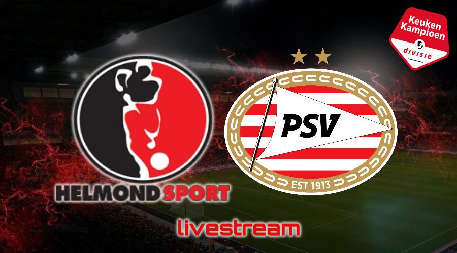 KKD live stream Helmond Sport - Jong PSV