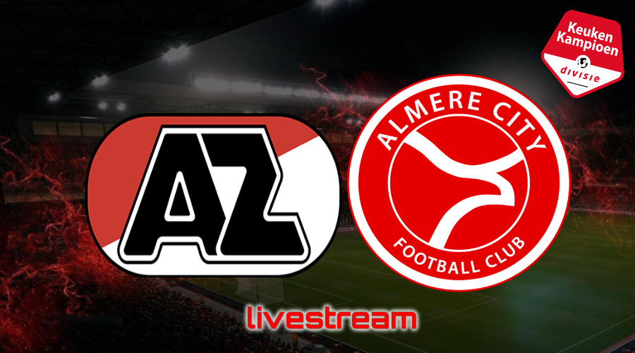 KKD live stream Jong AZ - Almere City FC