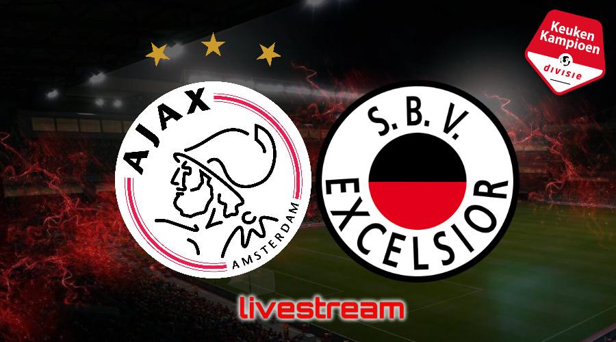 KKD live stream Jong Ajax - Excelsior