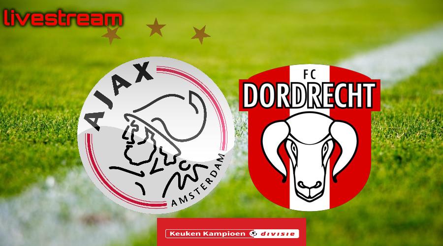 KKD live stream Jong Ajax - FC Dordrecht