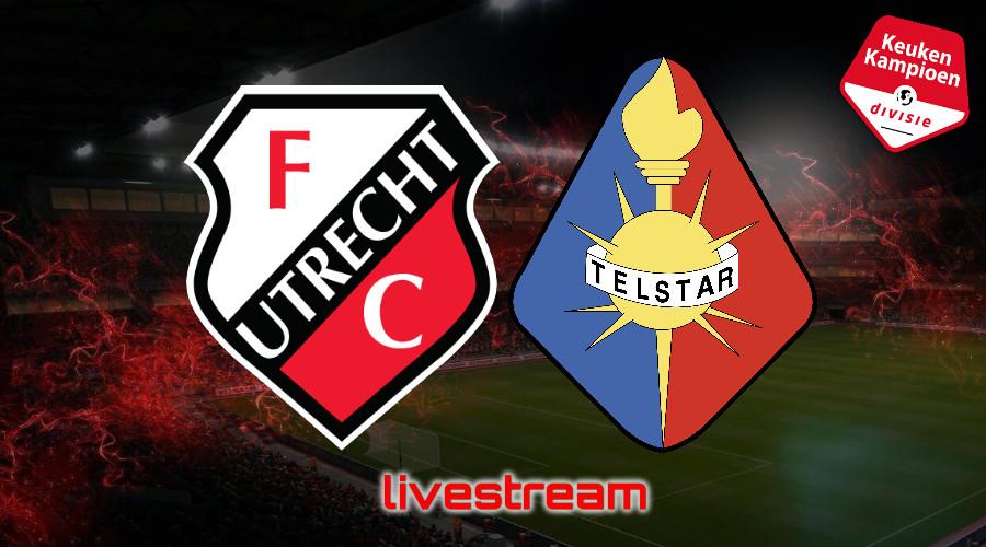 KKD live stream Jong FC Utrecht - Telstar
