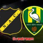 KKD live stream NAC Breda - ADO Den Haag