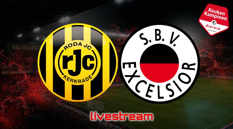 KKD live stream Roda JC - Excelsior