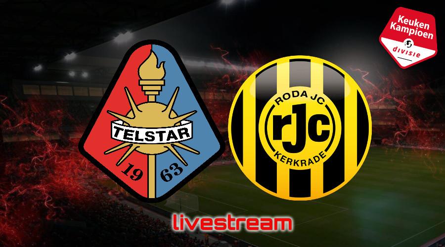 KKD live stream Telstar - Roda JC
