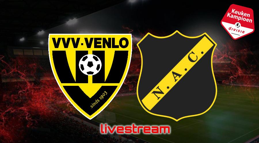 KKD live stream VVV-Venlo - NAC Breda