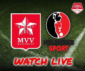 MVV Maastricht - Helmond Sport livestream