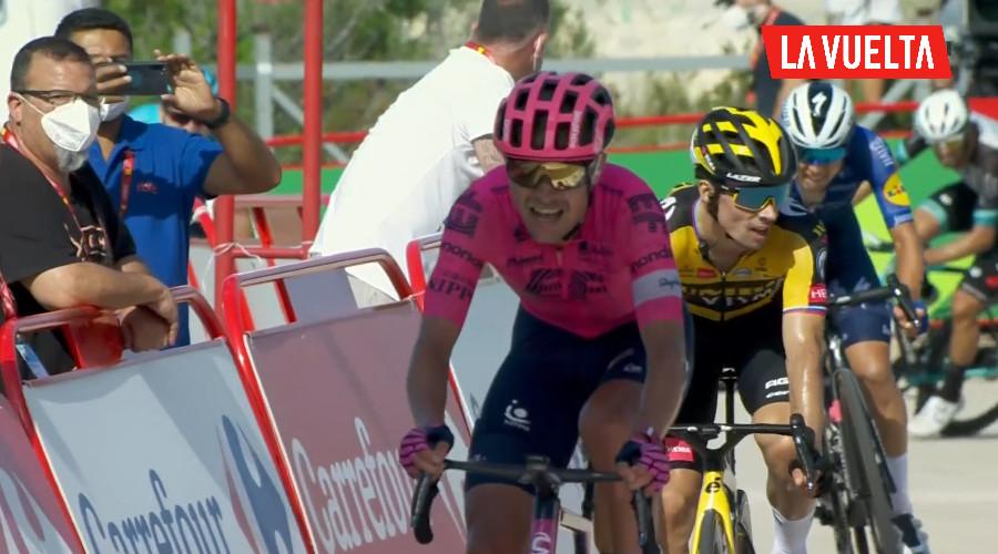 Magnus Cort Nielsen winnaar zesde etappe Vuelta