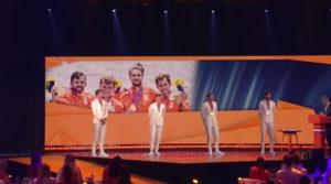 Medaille winnaars Tokio gehuldigd in Den Haag