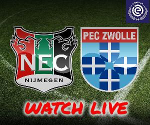 NEC - PEC Zwolle livestream