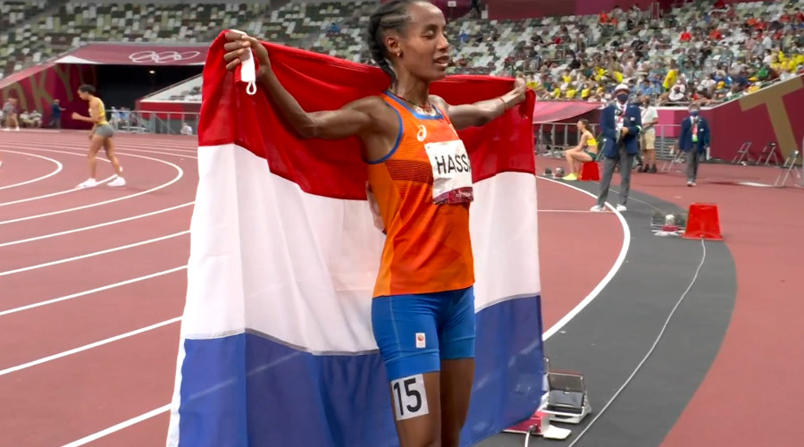 Sifan Hassan wint 10.000 meter