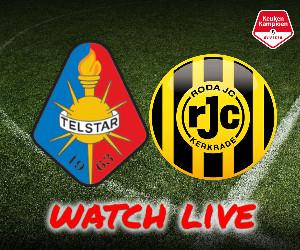 Telstar - Roda JC livestream