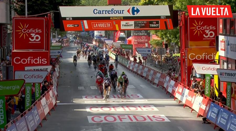 Tweede etappezege Philipsen in Vuelta