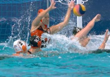 Waterpolosters bereiken kwartfinale in Tokio