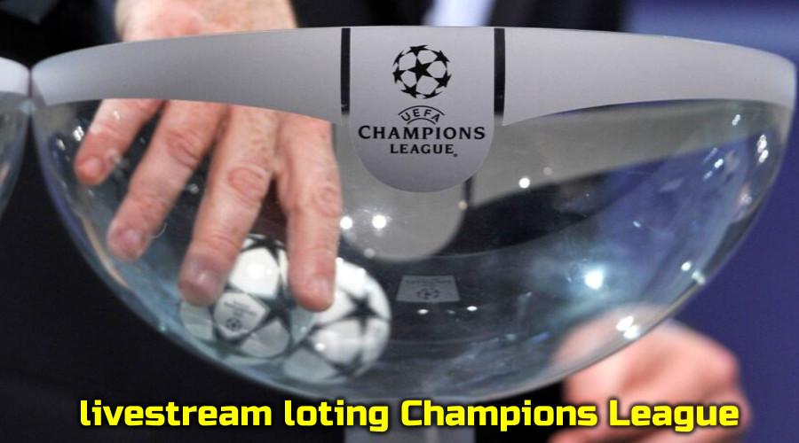 live stream loting Champions League met Ajax