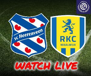 livestream heerenveen - rkc