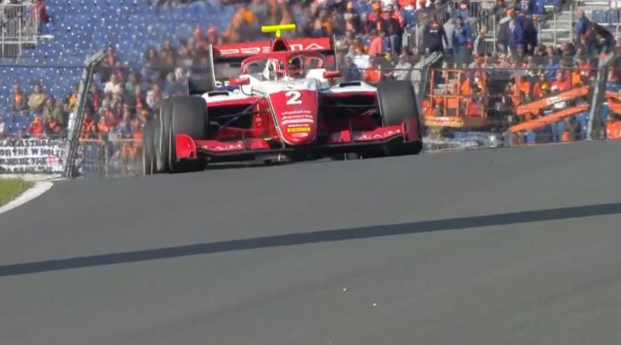 Arthur Leclerc wint Formule 3 race op Zandvoort