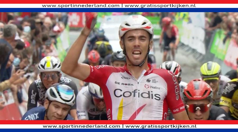 Christophe Laporte winnaar GP Wallonie