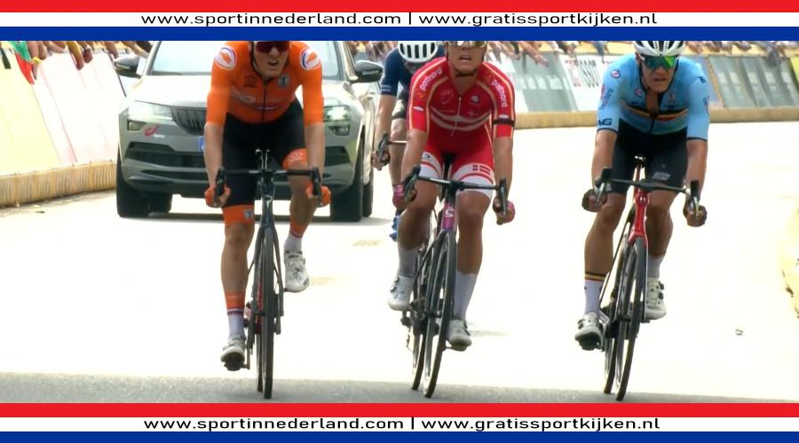 Dylan van Baarle wint zilver bij WK wielrennen