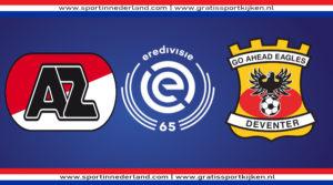 Eredivisie live stream AZ - Go Ahead Eagles