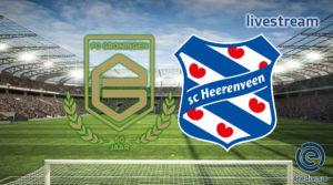 Eredivisie live stream FC Groningen - SC Heerenveen