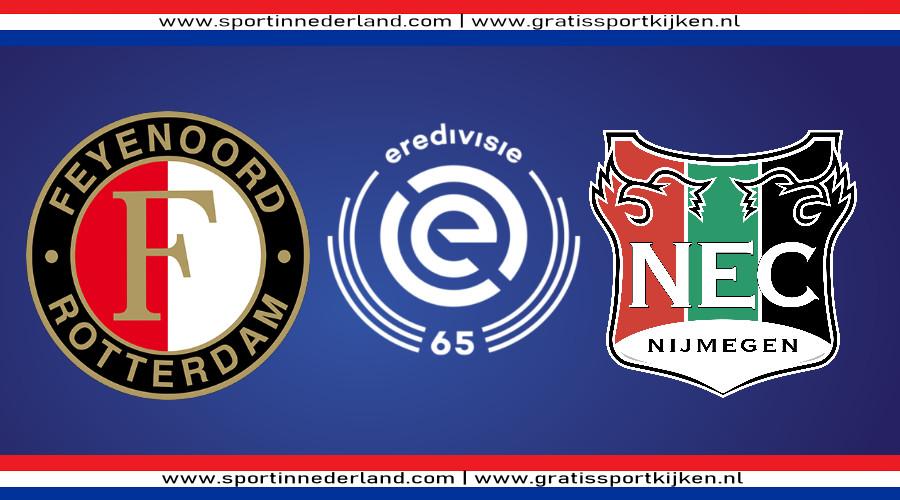 Eredivisie live stream Feyenoord - NEC