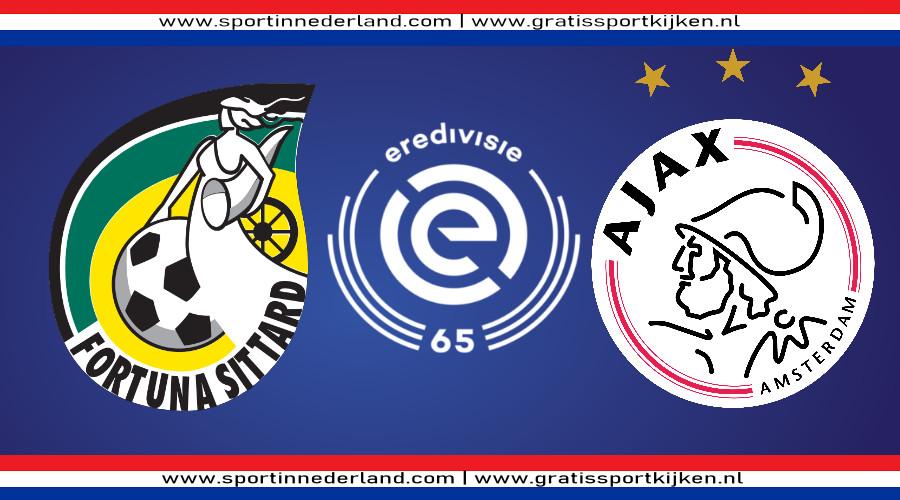 Eredivisie live stream Fortuna Sittard - Ajax