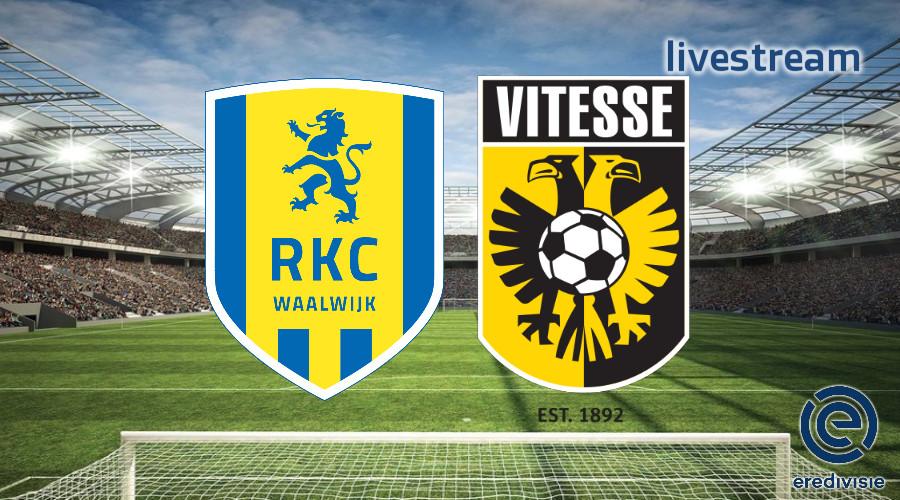 Eredivisie live stream RKC - Vitesse