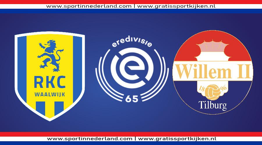 Eredivisie live stream RKC - Willem II