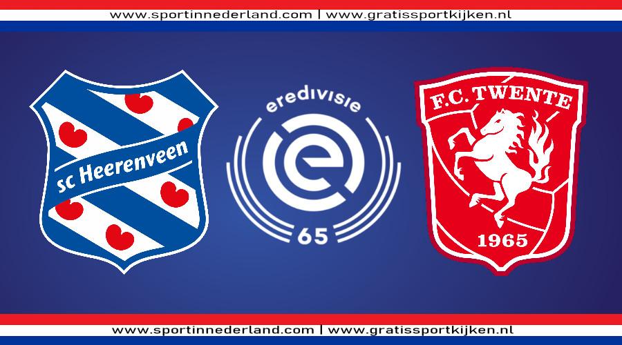 Eredivisie live stream SC Heerenveen - FC Twente
